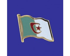 Algeria Lapel Pin (Single Waving Flag)