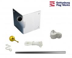 Single Pole Corner Outrigger Set - Choose Options