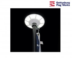 Solar Flagpole Light - Top Mounted