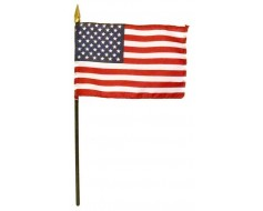 "American Stick Flag - 4x6"""