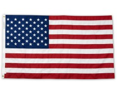 American Flag, Cotton 5x9.5' (Casket Size)