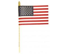 "American Stick Flag (Muslin) - 4x6"""