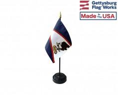 "American Samoa Stick Flag - 4x6"""