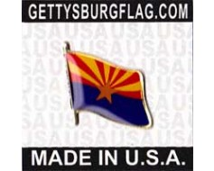 Arizona State Flag Lapel Pin