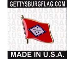 Arkansas State Flag Lapel Pin