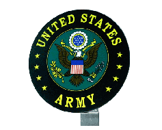 Army Seal Grave Marker