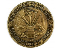 Army Brass Medallion