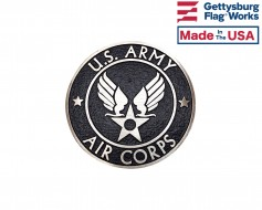 Army Air Corps Veteran Grave Marker-Bronze