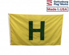 "Civil War Hospital ""H"" Flag"