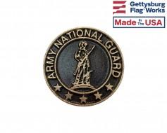 "Army National Guard Memorial Medallion-3"""