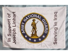 Custom Army National Guard Flags