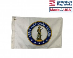 Army National Guard Motorcycle Flag