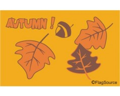 Autumn Leaves Flag - 3x5'