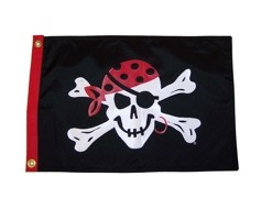 One Eyed Jack Pirate Flag