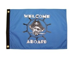 Sea Pirate Flag - 12x18""