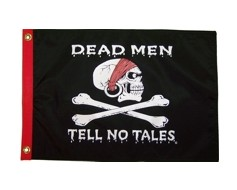 Dead Men Tell No Tales Flag