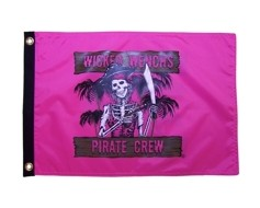 Wicked Wench Flag - 12x18""