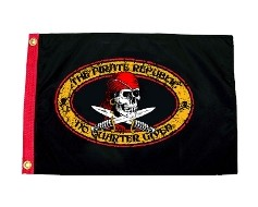 The Pirate Republic Flag