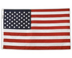 American Flag, Nylon Battle-Tough, Grommets - 3x5'