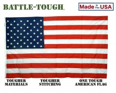 Battle-Tough® Nylon American Flag