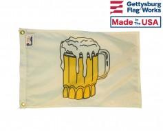 Beer Time Boat Flag