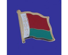 Belarus Lapel Pin (Single Waving Flag)