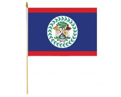 Belize Stick Flag