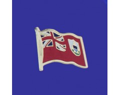Bermuda Lapel Pin (Single Waving Flag)