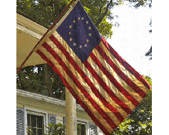 Betsy Ross Flag (Tea-Stained) - 3x5'