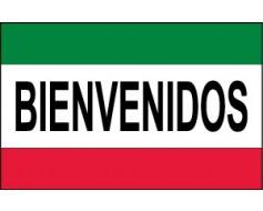 Bienvenidos (Welcome) Flag