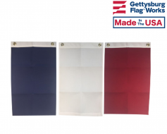 Blank Heavy Duty Polyester Flags - Choose Options