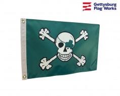 Blarney Bones Irish Pirate Boat Flag