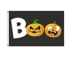 BOO / Pumpkins Flag