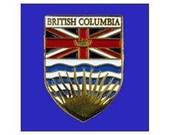 British Columbia Lapel Pin (Shield)