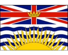 British Columbia Flag - 3x5'