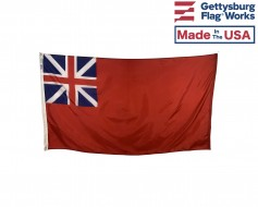 Historic British Red Ensign Flag - Choose Options