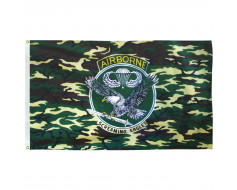Camouflage Airborne Flag - 3x5'