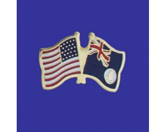 Cayman Island (blue design) Lapel Pin (Double Waving Flag...