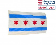 City of Chicago Flag  (Illinois, USA)