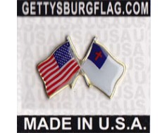 Christian Lapel Pin (with US Flag)