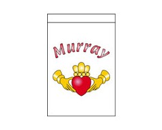 Custom Claddagh Banner