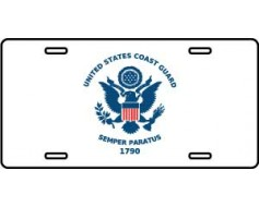 US Coast Guard License Plate