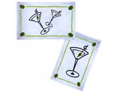 "Cocktail Flag - 12x18"""