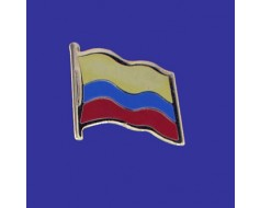 Colombia Lapel Pin (Single Waving Flag)