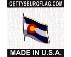 Colorado State Flag Lapel Pin
