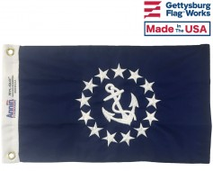 Commodore Boat Flag - 12x18""