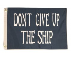 """Commodore Perry Boat Flag-12x18"""""""