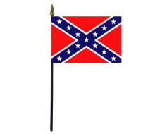 Confederate Battle Stick Flag