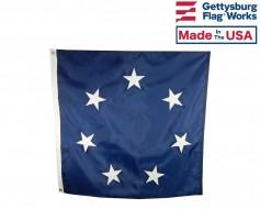 Sewn Confederate Jack Flag - 3x3'