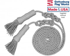 Silver Cord & Tassel for 3x5' flag